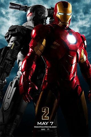 IronMan 2 iPhone Wallpaper