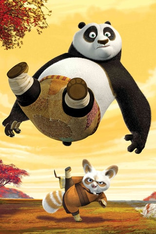 Kung Fu Panda iPhone Wallpaper