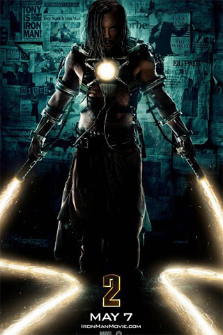 Iron Man II iPhone Wallpaper