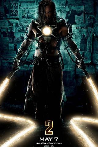 Iron Man II iPhone Wallpaper
