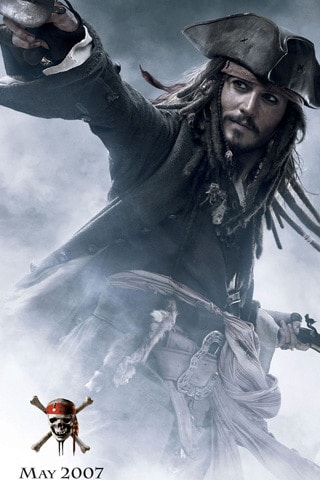 Pirates of the Caribbean – At World's End iPhone Wallpaper