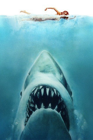 Jaws iPhone Wallpaper