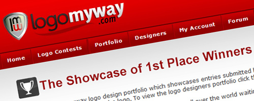 Start A Logo Design Contest at LogoMyWay.com