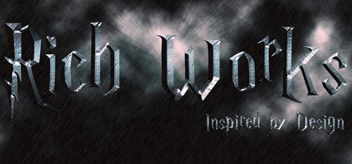 Create a stormy Harry Potter Text effect in Photoshop
