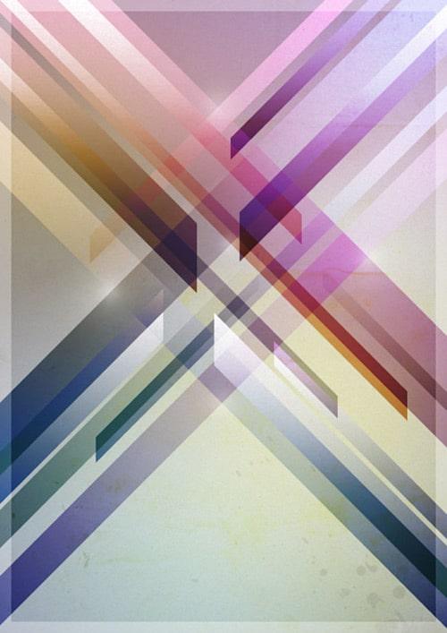 Design a Colorful Retro Futuristic Poster in Photoshop