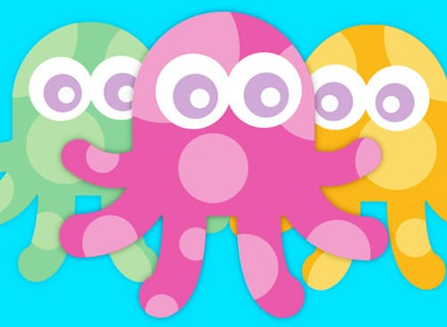 Create A Cute Vector Octopus in Illustrator with Simple Shapes