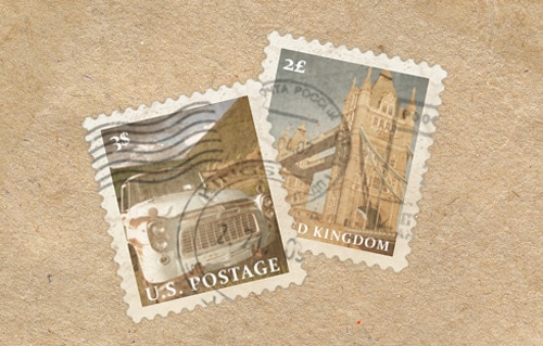 Craft a Vintage Postage Stamp in Photoshop
