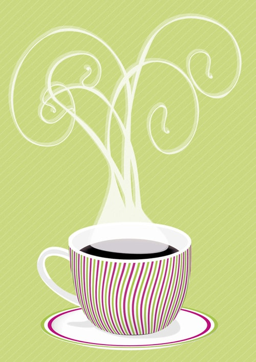 Cafe Style Coffee Art in Adobe Illustrator