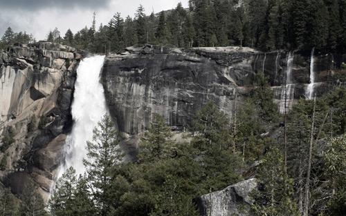 Nevada Falls By AB