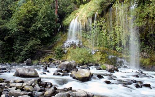 Mossbrae Falls By Lyle Krannichfeld