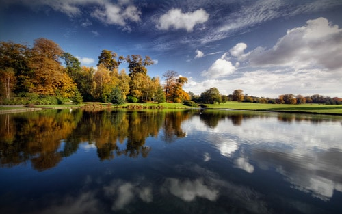 Leeds Castle Grounds By Joel Antunes