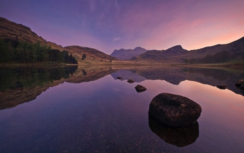 Blea Tarn lake, Cumbria, England. By Joel Antunes