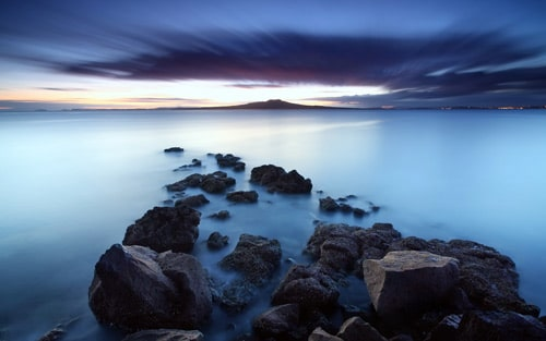 Sunrise over Rangitoto Auckland, New Zealand. By BoselySam