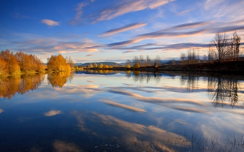Kelland Ponds New Zealand. By Chris Gin