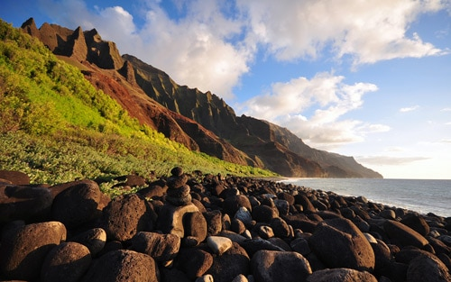 Na Pali Evening By Travis Lair
