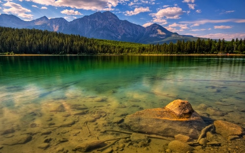 asper, Alberta, Canada. Turquoise Reflections By TheReal7