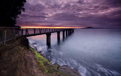 Auckland's North Shore. Darkness Rising By Chris Gin