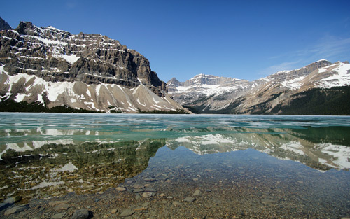 Bow Lake, Icefields Parkway By TME
