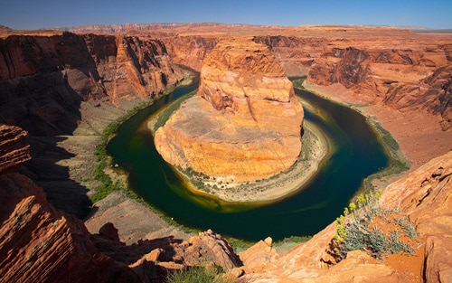 South of Page, Arizona, Horseshoe Canyon By Philippe Clairo