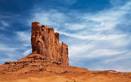 Monument on Navajo land, Monumental By Philippe Clairo