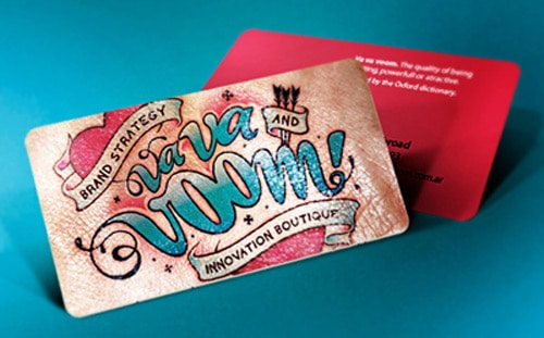 Business Card for: Va Va Voom