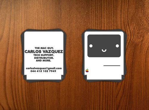 mac business cards