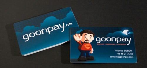 GoonPay Business Card