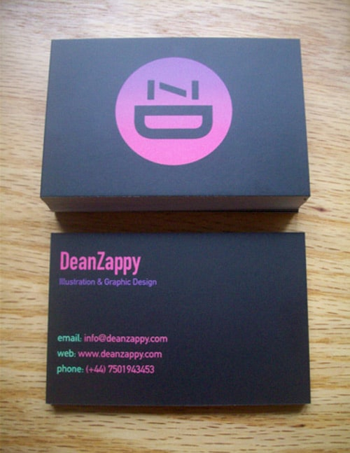 Zappy Business Card