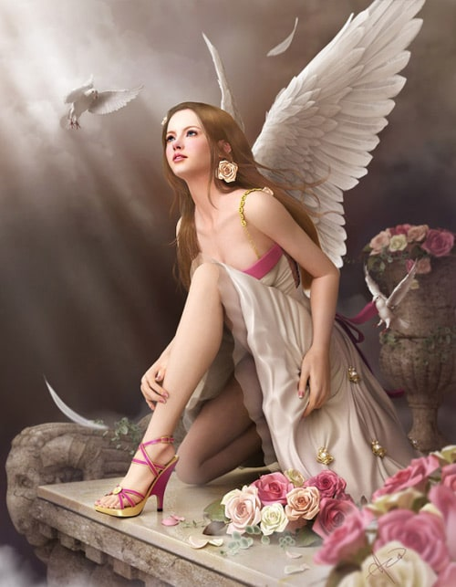 Angel's time by Soa Lee