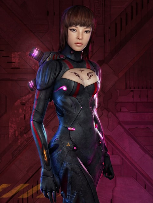 Night Rider, Hyun Hee Lee (3D)