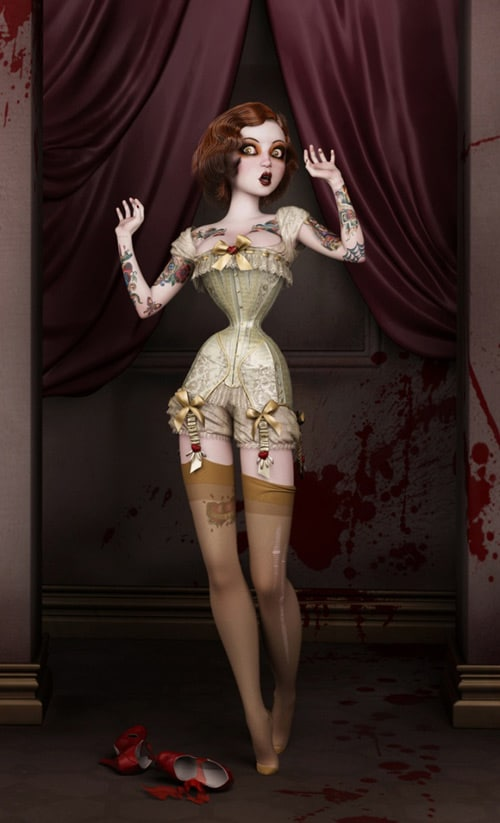 Twisted Dolls: The Butcher's Bride