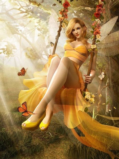 In the golden forest Soa Lee