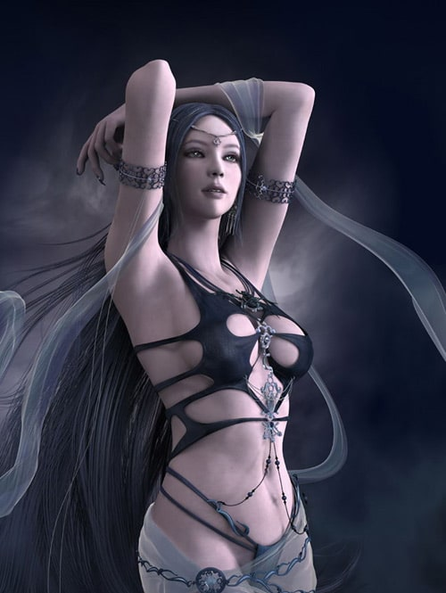 Shaiya Etaine the Dark Goddess