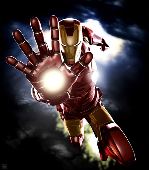 Ironman - Iconic - Mark III by Daniel Scott Gabriel Murray