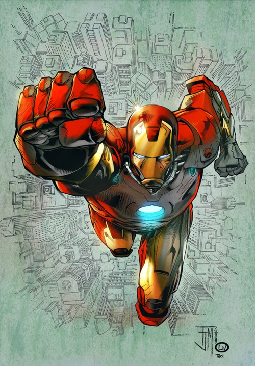 Iron man by deffectx