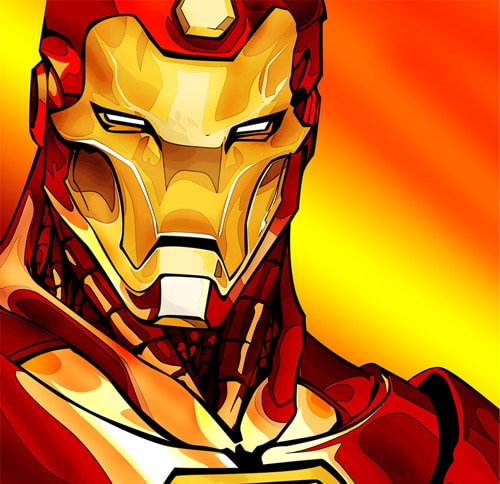 IronMan by Ronald Indria
