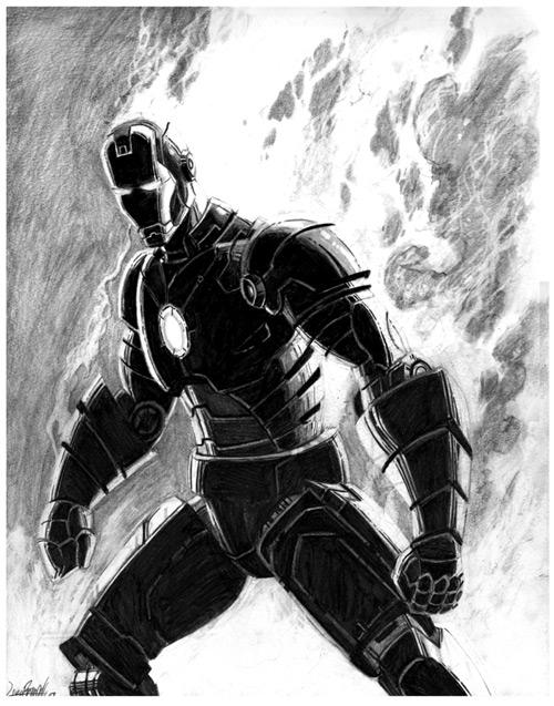 Iron Man by Livio27