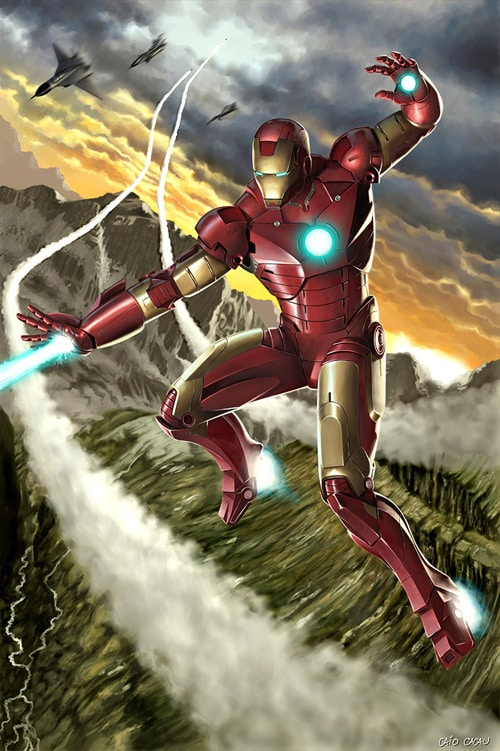 Iron Man by caiocacau