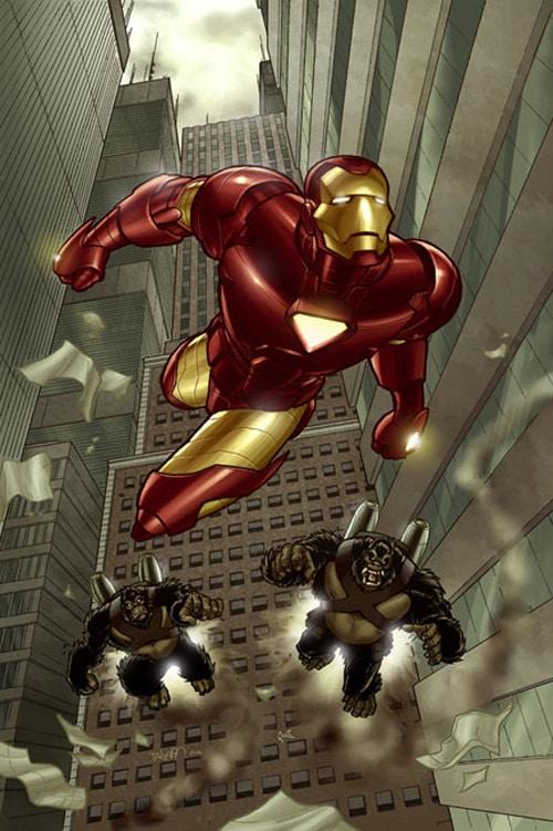 Iron Man by fernandogoni