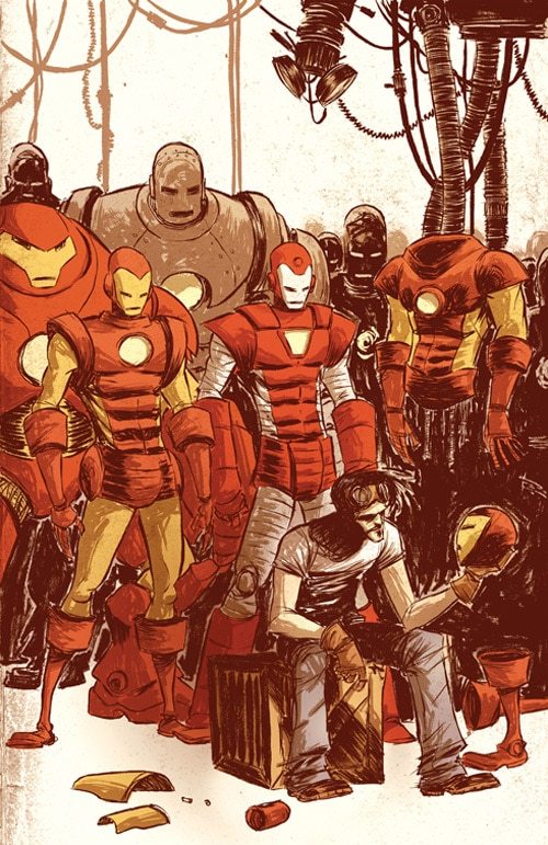 Ironman: Armored Wars 1 by skottieyoung