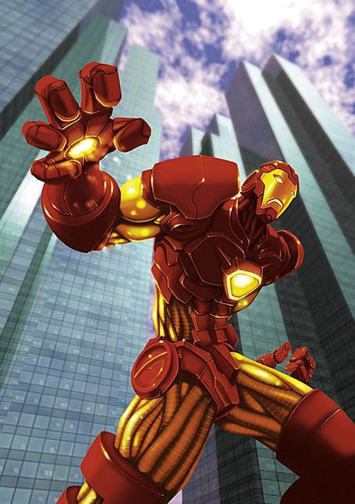 2D Character: Iron Man by Jamie Noguchi