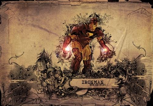 ironman by PAOKSKI