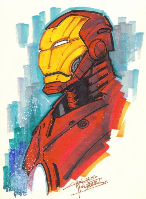 Marker : Iron Man rehash by KidNotorious