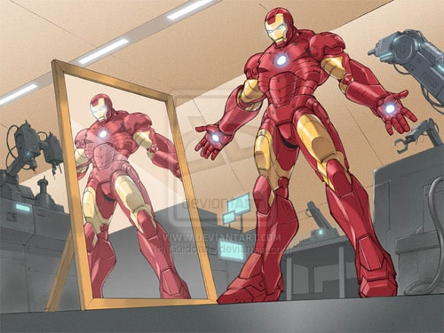 Iron Man children's book 2 by Guidoarts