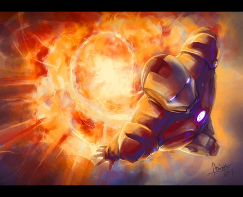 Iron Man by TheMinttu