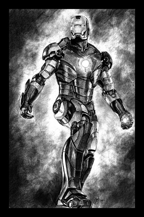 I am Iron Man by theangryfish