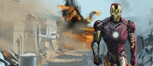 Iron man - speed painting by phobos80