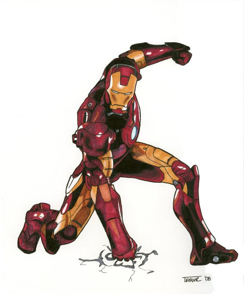 Iron Man by ahemmy