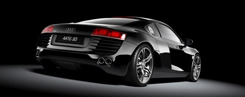 audi R8 in 3ds Max + Vray by Jacobo Rojo