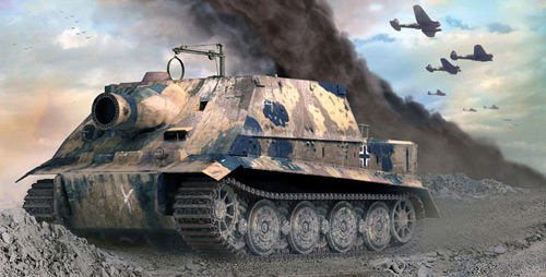 tank in 3DS MAX 5.1 / Brazil R/S by Piotr Kolus